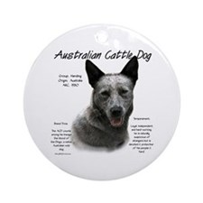 ACD (blue) Ornament (Round)