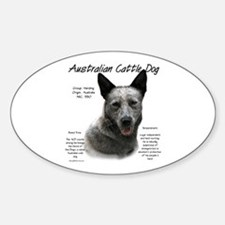 ACD (blue) Oval Decal