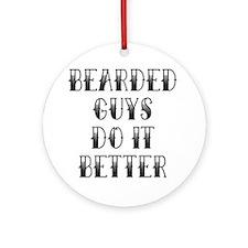 Bearded Guys Ornament (Round)