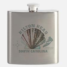 Hilton Head South Carolina Flask