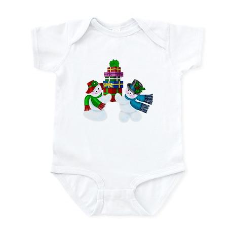 Snow Couple Infant Bodysuit