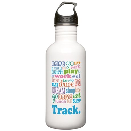 Track Stainless Water Bottle 1.0L