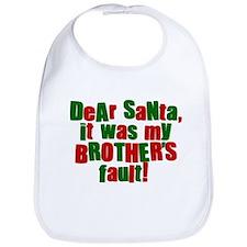 Dear Santa | Brothers Fault Bib