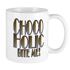 CHOCOHOLIC- BRONZE SILVER GRADIENT copy.png Small Mugs