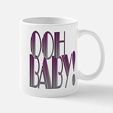 OOH BABY!- PURPLE GRADIENT copy.png Mug