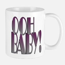 OOH BABY!- PURPLE GRADIENT copy.png Small Mugs