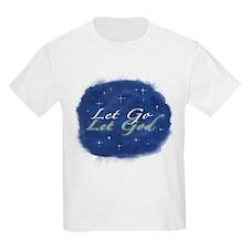 Let Go and Let God w/ Stars T-Shirt