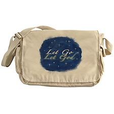 Let Go and Let God w/ Stars Messenger Bag
