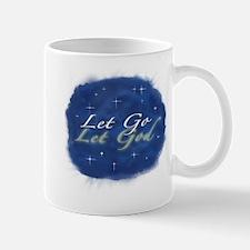 Let Go and Let God w/ Stars Mug