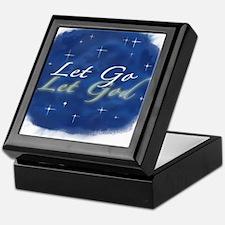 Let Go and Let God w/ Stars Keepsake Box