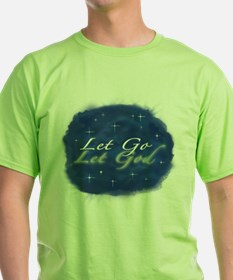 Let Go and Let God w/ Stars T-Shirt