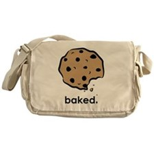 Baked. Messenger Bag