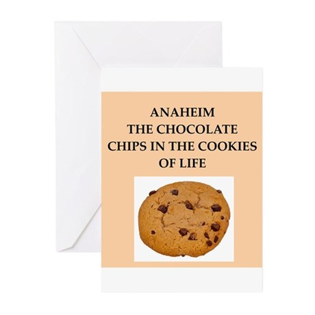 ANAHEIM.png Greeting Cards (Pk of 20)