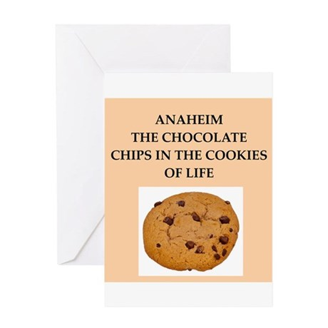 ANAHEIM.png Greeting Card