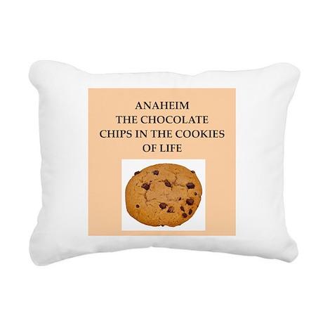 ANAHEIM.png Rectangular Canvas Pillow