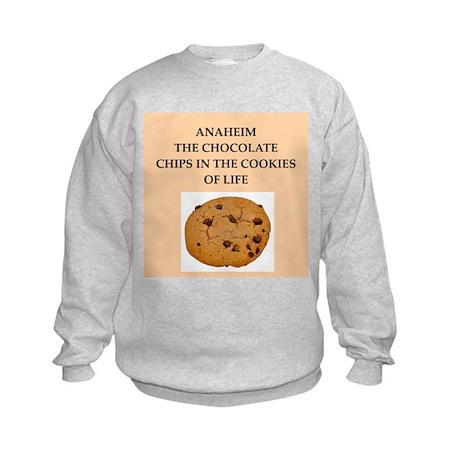 ANAHEIM.png Kids Sweatshirt