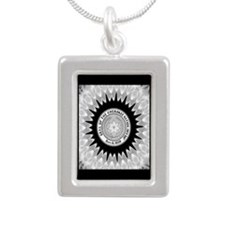 Cherokee Nation.png Silver Portrait Necklace