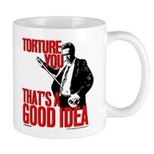 Reservoir Dogs Torture You Small Mug