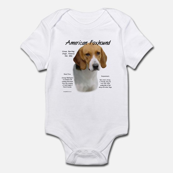 American Foxhound Baby Light Bodysuit