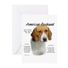 American Foxhound Greeting Cards (Pk of 10)