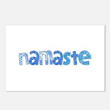 Blue Tribal Namaste Postcards (Package of 8)