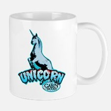 Cabin in the Woods Unicorn Mug