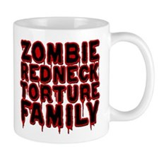 Zombie Redneck Torture Family Blood Small Mug