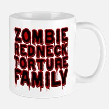 Zombie Redneck Torture Family Blood Small Small Mug