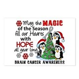 Brain tumor greeting card Postcards