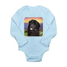 Newfoundland Meadow Long Sleeve Infant Bodysuit