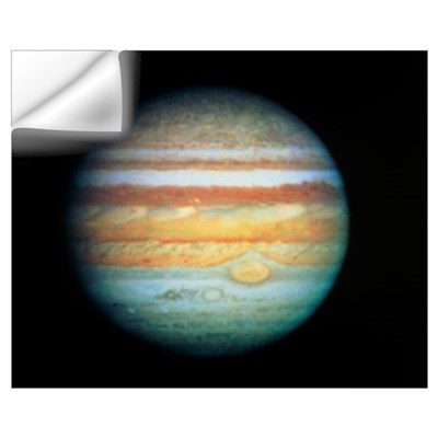 Image of Jupiter taken with the Hubble Telescope Wall Decal