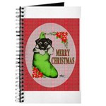 Merry Christmas Puppy Journal