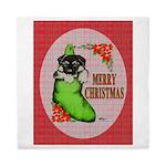 Merry Christmas Puppy Queen Duvet