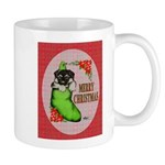 Merry Christmas Puppy Mug