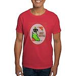 Merry Christmas Puppy Dark T-Shirt