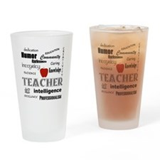 Teacher Pride Drinking Glass