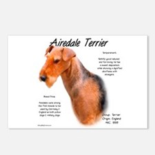 Airedale Postcards (Package of 8)