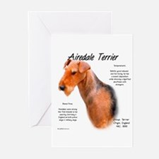 Airedale Greeting Cards (Pk of 10)