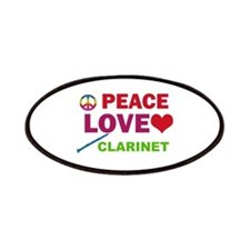 Peace Love Clarinet Patches
