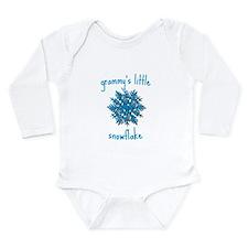 Grammys Little Snowflake Long Sleeve Infant Bodysu