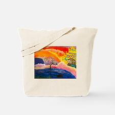 Blossoming Heavens Tote Bag