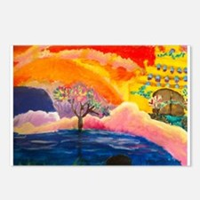 Blossoming Heavens Postcards (Package of 8)