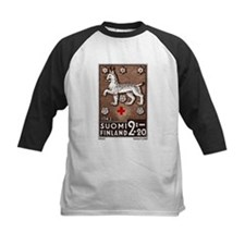 1943 Finland Lynx Coat of Arms Postage Stamp Tee