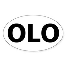 OLOTEAS Oval Decal