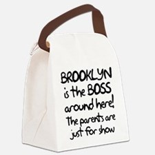 Brooklyn is the Boss Canvas Lunch Bag