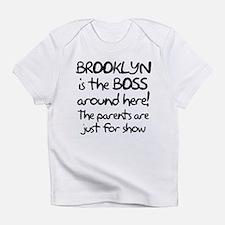 Brooklyn is the Boss Infant T-Shirt