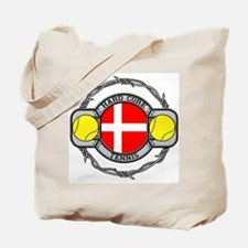 Denmark Tennis Tote Bag