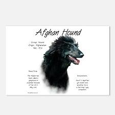 Afghan (black) Postcards (Package of 8)