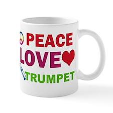 Peace Love Trumpet Mug