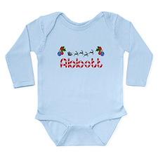 Abbott, Christmas Long Sleeve Infant Bodysuit